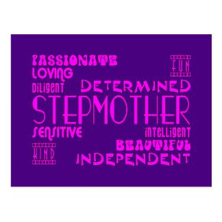 Stepmothers Stepmoms Birthday Parties : Qualities Post Card