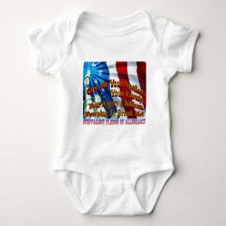 StepParent Pledge of Allegiance Baby Bodysuit