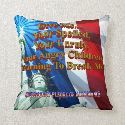 StepParent Pledge Pillows