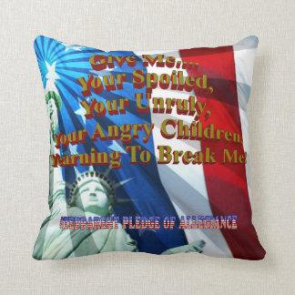 StepParent Pledge Throw Pillow