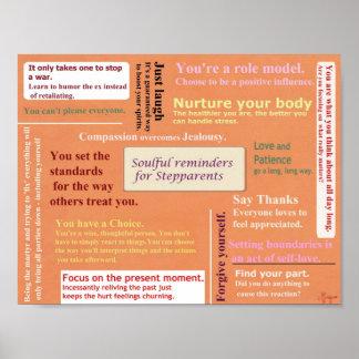 Stepparent Reminder poster