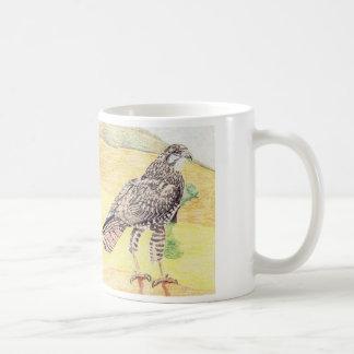 Steppe Buzzard Coffee Mug