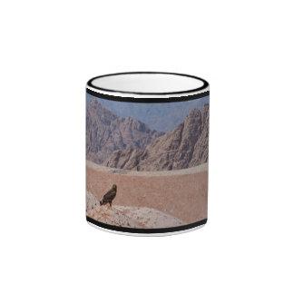 Steppe Eagle, Aquila nipalensis, Steppenadler Coffee Mugs