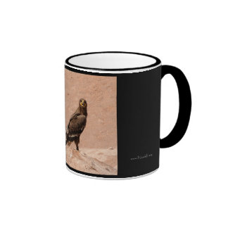 Steppe Eagle, Aquila nipalensis, Steppenadler Mugs