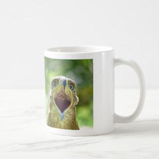 Steppe Eagle Head 001 2.1 Coffee Mug