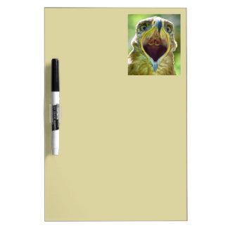 Steppe Eagle Head 001 2.1 Dry-Erase Board