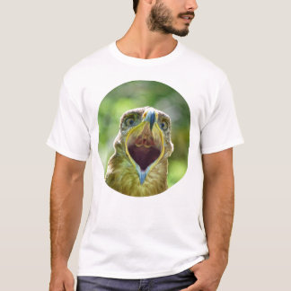 Steppe Eagle Head 004 01.2 rd, screaming T-Shirt