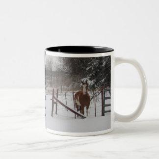 Stepper In The Snow Mug