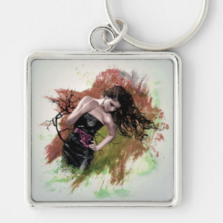 STEPPIN' OUT! (beautiful girl) ~ Key Chain