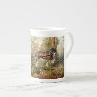 Steppin' Out Bone China Coffee Mug