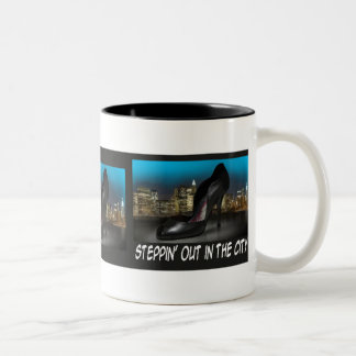 Steppin' Out in the City Mug