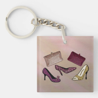 Steppin Out Keychain
