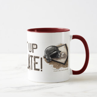 Steppin' Up To The Plate! Mug