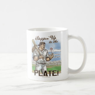 Steppin' Up To The Plate! Mug