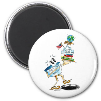 Stepping into Black Hole 2 Inch Round Magnet