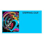 Stepping Out Buisness Card Business Card Templates