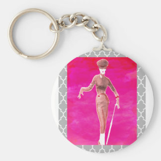 Stepping out Fashion is everything Keychain