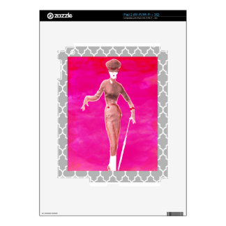 Stepping out Fashion is everything iPad 2 Decals