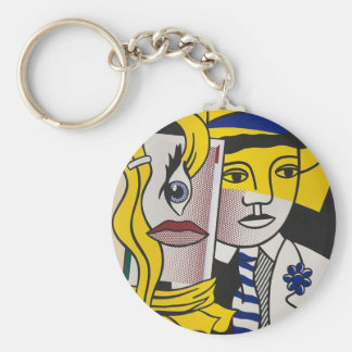 Stepping Out Keychain