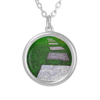 Stepping Stones by Shirley Taylor Silver Plated Necklace
