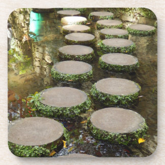 Stepping Stones Hard Plastic Coasters