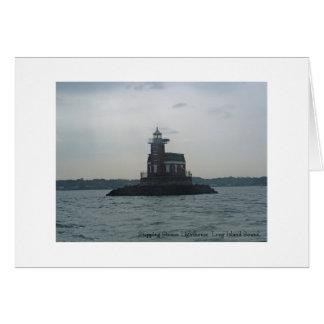 Stepping Stones Lighthouse, Long Isla... Card