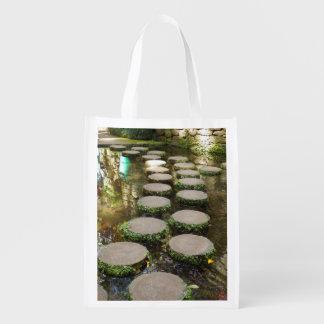 Stepping Stones Reusable Bag