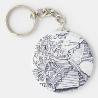 steps art stairs key chains