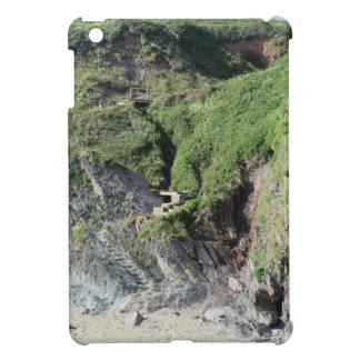 Steps at Sharrow Point, Freathy in Cornwall iPad Mini Cover
