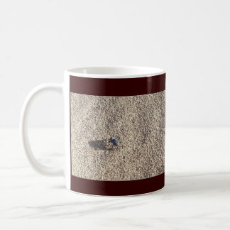 Steps in Sand, Quit bugging me! Coffee Mug