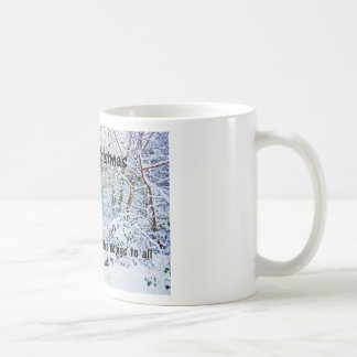 Steps in the Snow Classic White Coffee Mug