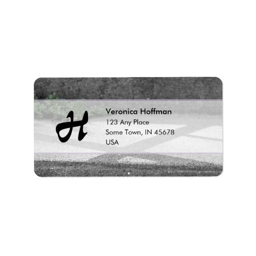 Steps Personalized Address Labels