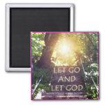 Steps Let God Magnet