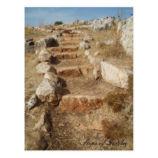 Steps of Galilee Postcard