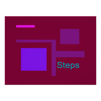 Steps Posters