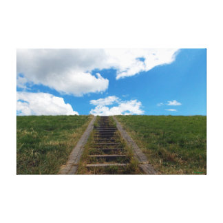 Steps to Nowhere's Everywhere. Canvas Print
