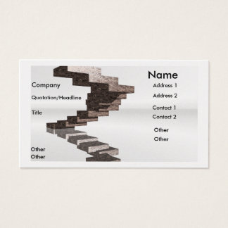 Steps to Success Business Card