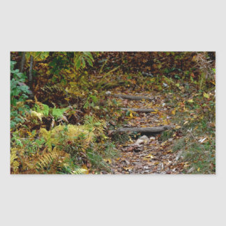 Steps to the Applaachian Trail Stickers