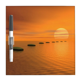 Steps to the sun - 3D render Dry-Erase Board