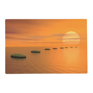 Steps to the sun placemat