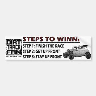 Steps To Winning Bumper Sticker