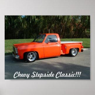 stepside, Chevy Stepside Classic!!! Poster