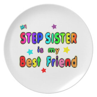 Stepsister Best Friend Dinner Plate