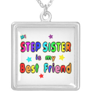 Stepsister Best Friend Silver Plated Necklace