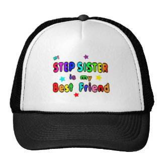Stepsister Best Friend Trucker Hat