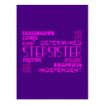 Stepsisters Birthday Parties Christmas : Qualities Postcard