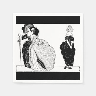 Stepsisters & Vintage Cinderella Paper Napkins