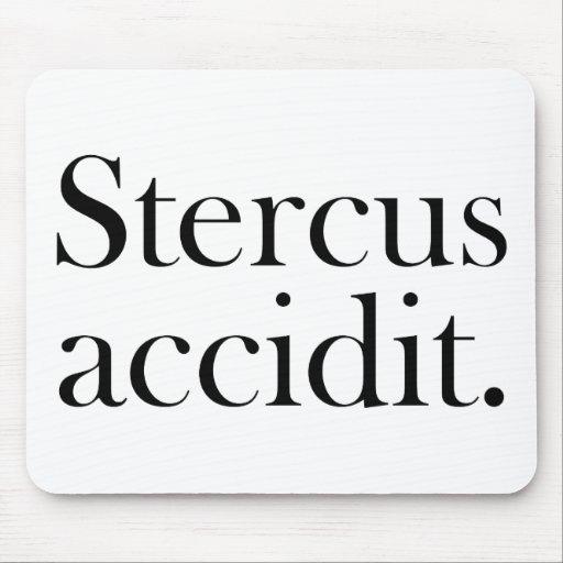 Stercus accidit mouse mat