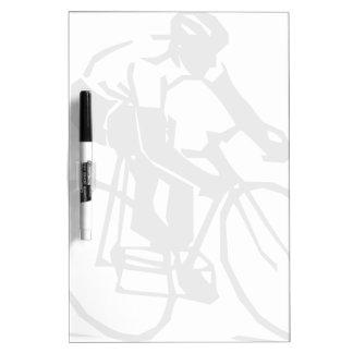 Steren-bike-rider-2400px Dry-Erase Board