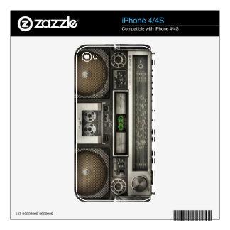 Stereo iPhone 4 Skin